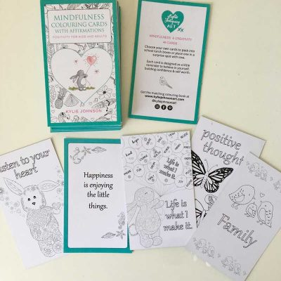 Affirmations Colouring Cards