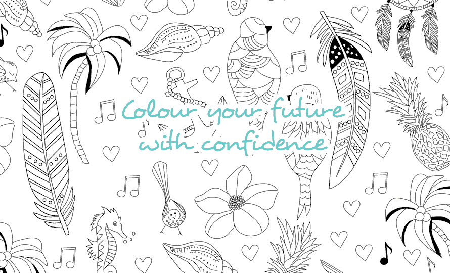 Colour Your Future With Confidence
