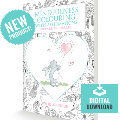 Mindfulness Colouring With Affirmations Digital Download